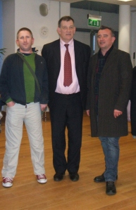 Paul Fitzsimons, Carlo Gébler & Declan Hughes