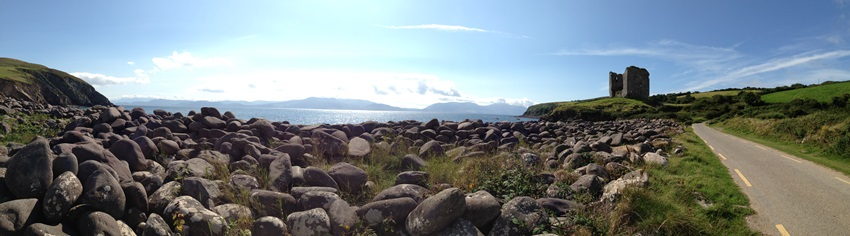 One of the many fabulous views on our trip around Dingle