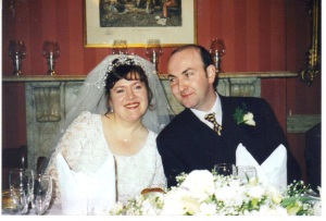 ......Blimey.....I really married Peter Harkin! LUCKY OLD ME!