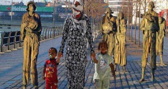 irish famine syrian